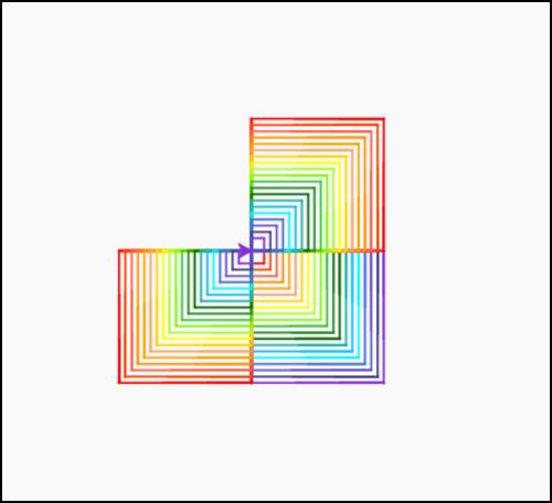 Lishan-Palo Alto CA-Rainbow Squares